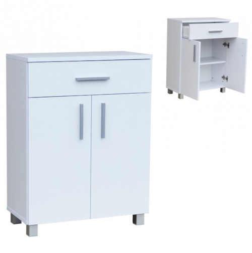 praktická koupelnová nízká skříňka