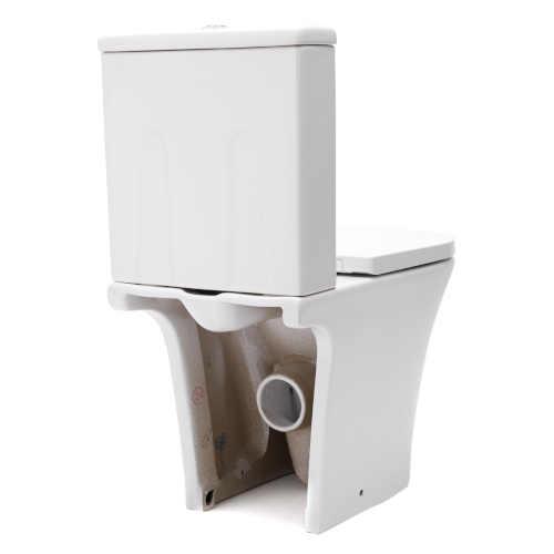 praktické stojící WC kombi