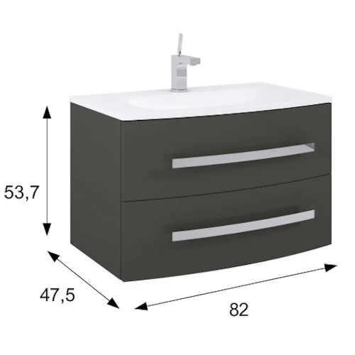 skříňka do koupelny v moderním designu
