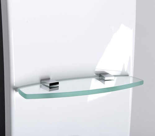 sprchový panel s integrovanou poličkou
