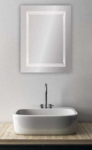 Moderní LED koupelnové zrcadlo