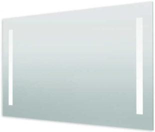 Obdélníkové zrcadlo o rozměru 120x70 cm s LED osvětlením se senzorem