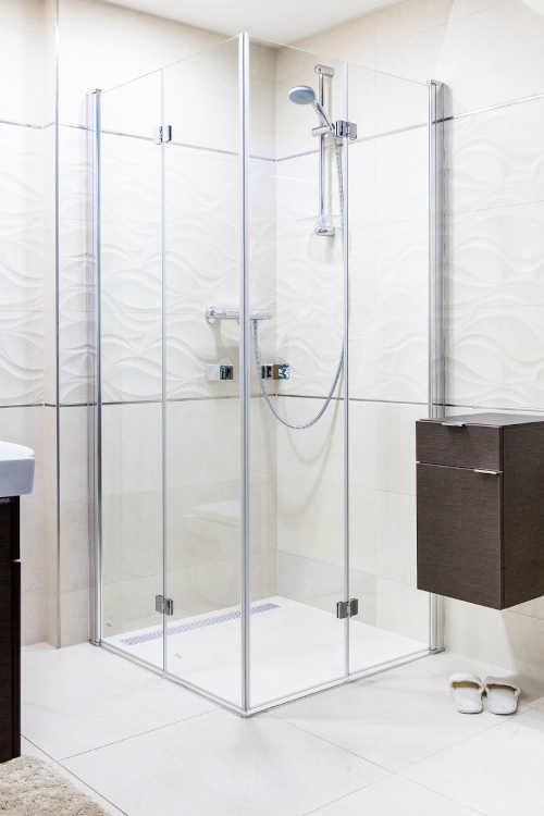 Sprchový kout v chromovém designu Soko Sk