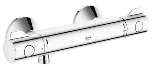 nástěnná baterie sprchová chrom