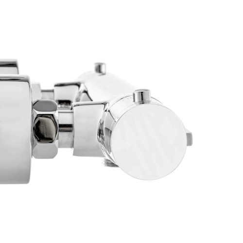sprchová baterie v chromovém designu