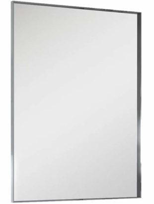 Zrcadlo 80x60 centimetrů v kovovém rámu