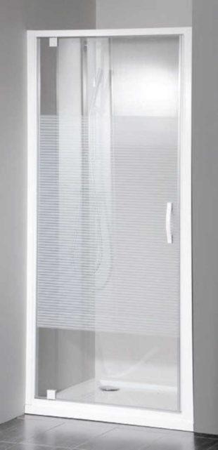 Skleněné sprchové dveře 800 mm