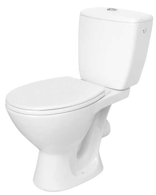 WC kombi se sedátkem v bílém provedení