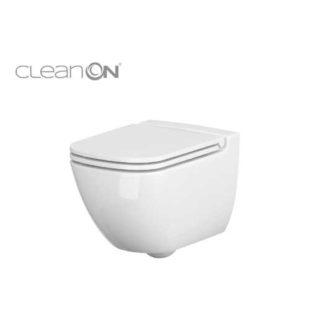 Závěsné WC z bílé keramiky