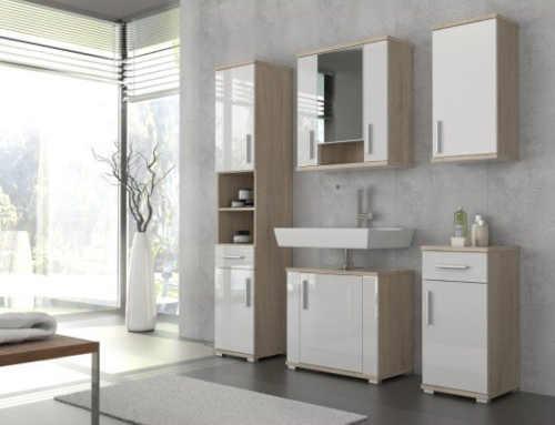 koupelnová skříňka v moderním dekoru