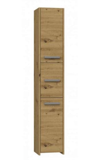 Vysoká úzká skříňka v dekoru dub artisan